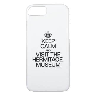KEEP CALM AND VISIT THE HERITAGE MUSEUM iPhone 7 CASE