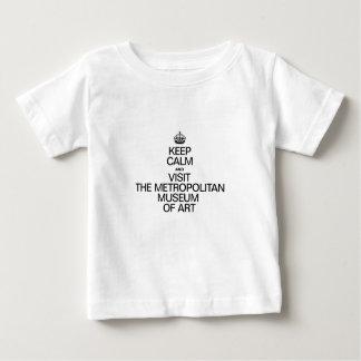KEEP CALM AND VISIT THE METROPOLITAN MUSEUM OF ART BABY T-Shirt