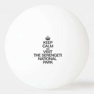 KEEP CALM AND VISIT THE SERENGETI NATIONAL PARK