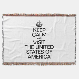 KEEP CALM AND VISIT THE UNITED STATES OF AMERICA