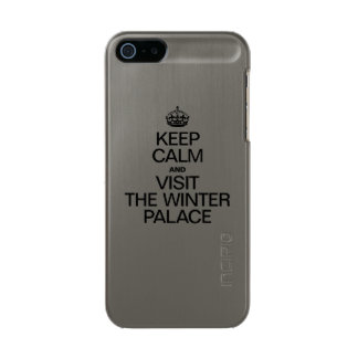 KEEP CALM AND VISIT THE WINTER PALACE INCIPIO FEATHER® SHINE iPhone 5 CASE