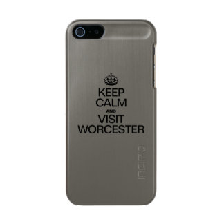 KEEP CALM AND VISIT WORCESTER INCIPIO FEATHER® SHINE iPhone 5 CASE
