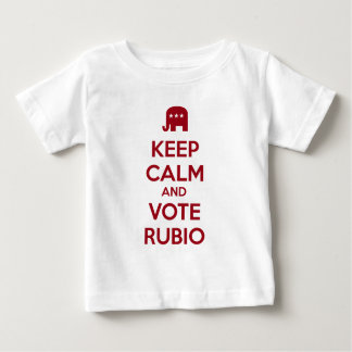 Keep Calm and Vote Marco Rubio Baby T-Shirt