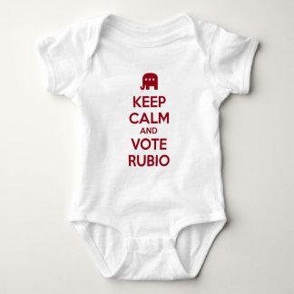 Keep Calm and Vote Marco Rubio Infant Creeper