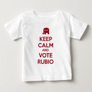 Keep Calm and Vote Marco Rubio Tshirts