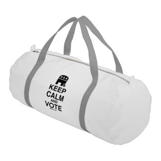 KEEP CALM AND VOTE REPUBLICAN GYM DUFFEL BAG