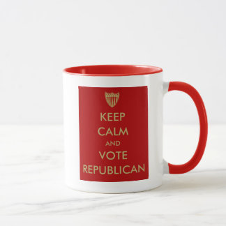 """KEEP CALM and VOTE REPUBLICAN"" Mug"