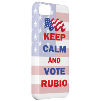Keep Calm and Vote Rubio iPhone 5C Covers