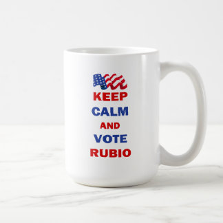 Keep Calm and Vote Rubio Coffee Mug