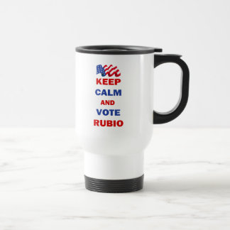 Keep Calm and Vote Rubio Mug