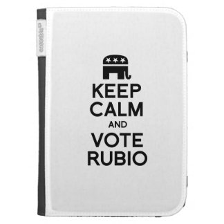 KEEP CALM AND VOTE RUBIO - png Kindle Keyboard Case