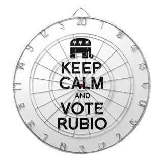 KEEP CALM AND VOTE RUBIO - png Dartboard With Darts