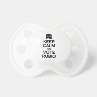 KEEP CALM AND VOTE RUBIO -.png Pacifiers