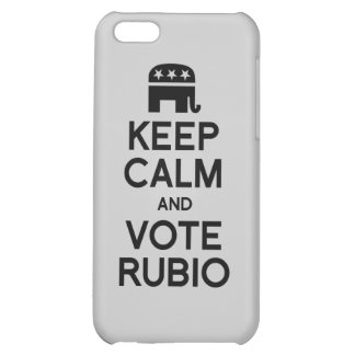 KEEP CALM AND VOTE RUBIO -.png Cover For iPhone 5C