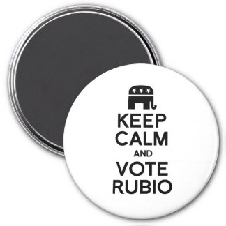KEEP CALM AND VOTE RUBIO -.png Refrigerator Magnets