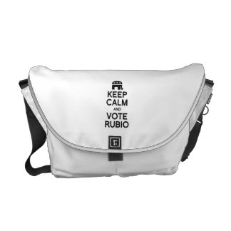 KEEP CALM AND VOTE RUBIO -.png Courier Bag