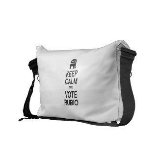 KEEP CALM AND VOTE RUBIO -.png Messenger Bag