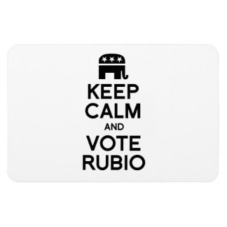 KEEP CALM AND VOTE RUBIO -.png Magnet