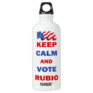 Keep Calm and Vote Rubio SIGG Traveller 0.6L Water Bottle
