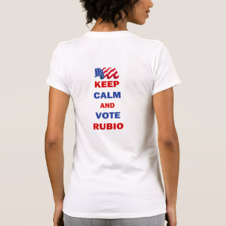 Keep Calm and Vote Rubio Shirts