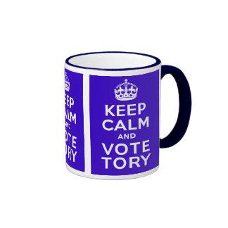 Keep Calm And Vote Tory ~ Political U.K Mugs