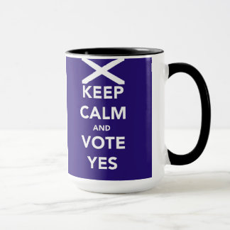 Keep calm and vote Yes Mug