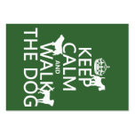 Keep Calm and Walk The Dog - all colours