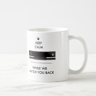 Keep Calm and Watch X Box Basic White Mug