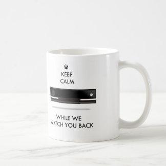 Keep Calm and Watch X Box Coffee Mug