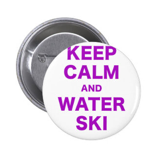 Keep Calm and Water Ski Pin
