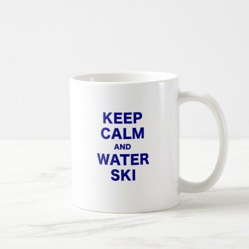 Keep Calm and Water Ski Mug