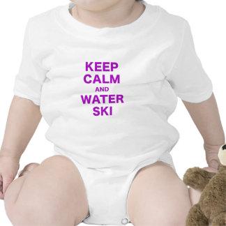 Keep Calm and Water Ski Bodysuit