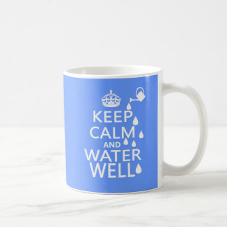 Keep Calm and Water Well Coffee Mug
