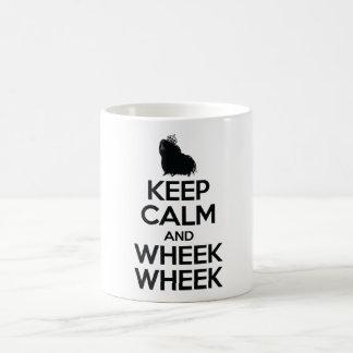 Keep Calm and Wheek Wheek Coffee Mug