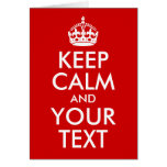 Keep Calm and Your Text