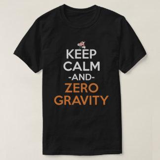 Keep Calm And Zero Gravity Anime Shirt