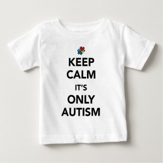 Keep Calm - Autism Awareness Baby T-Shirt