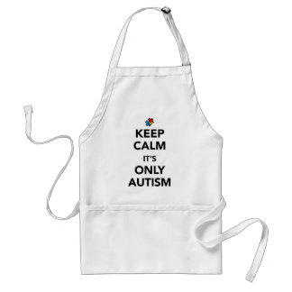 Keep Calm - Autism Awareness Standard Apron