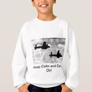 Keep Calm Avro Lancaster Sweatshirt