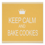 """KEEP CALM & BAKE COOKIES"""