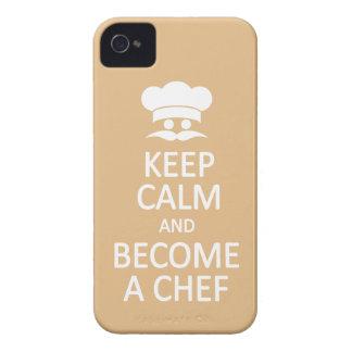 Keep Calm & Become a Chef custom Blackberry case