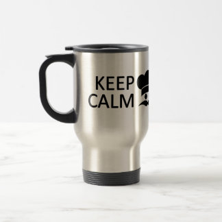 Keep Calm & Become a Chef custom mug