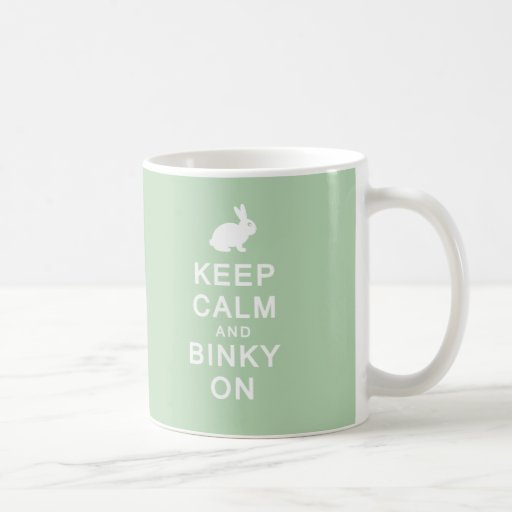 Keep Calm & Binky On Mug