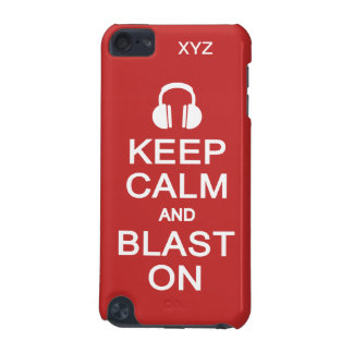 Keep Calm & Blast On custom cases