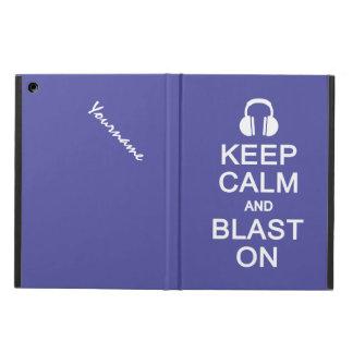 Keep Calm & Blast On custom cases