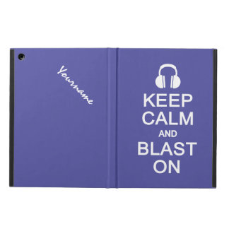 Keep Calm & Blast On custom cases iPad Air Case