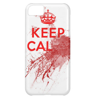 Keep Calm Bloody Zombie iPhone 5C Case