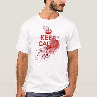 Keep Calm Bloody Zombie T-Shirt