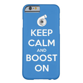 keep calm boost car turbo engine tuner super musc iPhone 6 case