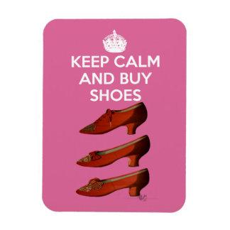 Keep Calm Buy Shoes 2 Rectangular Photo Magnet